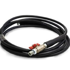 4 Meter hose recommended for 22 Litre Canister