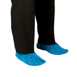 Chlorinated Polyethylene Shoe Covers – Water Proof